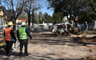 AYSA inauguró obras cloacales en Gregorio de Laferrere
