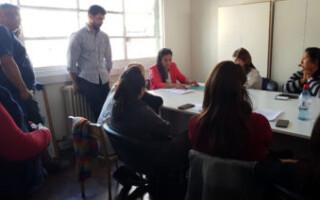 Infraestructura escolar: finalmente, el SUTEBA local fue recibido por la DPI