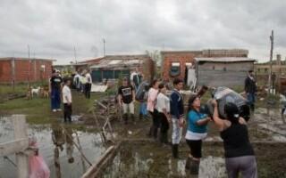 La UNLaM recibe donaciones para ayudar a los afectados por el temporal
