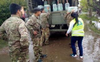 El Ejército llegó al Distrito para asistir con los damnificados