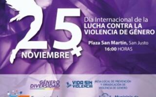 Jornada por el Día Internacional de la Lucha contra la Violencia de Género
