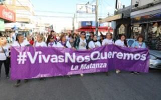 Se realizó la Marcha por el Día Internacional de  la Lucha contra la Violencia de Género