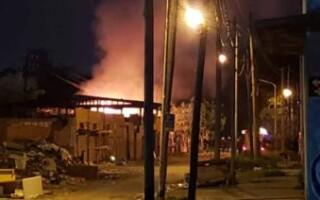 Incendiaron el espacio de la APDH La Matanza
