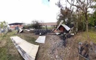 San Justo: tras el incendio de la APDH, realizarán un abrazo simbólico