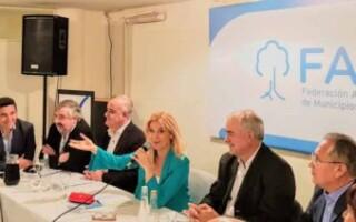 De cara a su asunción en Provincia, Magario se despidió de la Federación Argentina de Municipios