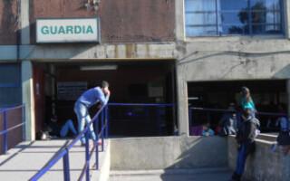 Se desplomó un ventilador encendido en la guardia del Hospital Paroissien