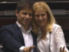Junto a Alberto y Cristina, Axel Kicillof y Verónica Magario asumieron la Gobernación de la Provincia