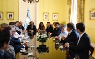 """Fernando Espinoza: """"Después de cuatro años los intendentes volvimos a entrar a la Casa Rosada para llevarles soluciones a los argentinos"""""""