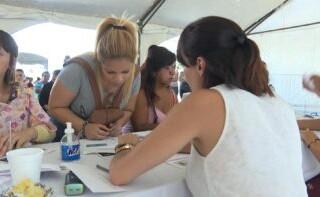 Segunda semana de entrega de la tarjeta Alimentar en La Matanza