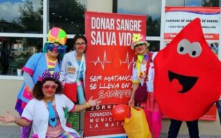 San Justo: realizan una nueva campaña de sangre y médula ósea