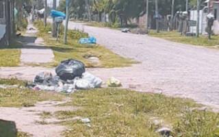 Denuncian falta de recolección de residuos en Virrey del Pino