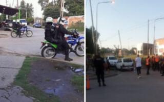 Rafael Castillo: tras el reclamo de los vecinos, realizan controles policiales en la zona