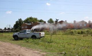 Operativo de Fumigación contra el Dengue en La Matanza