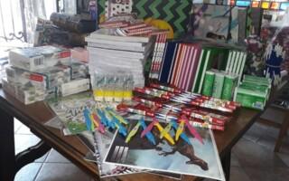Vuelta a clase: agrupación del oeste repite su colecta de mochilas para donarlas a los más necesitados