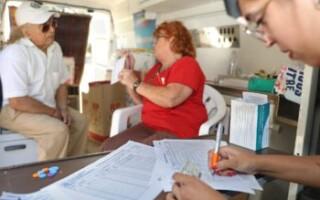 Continúan los operativos de vacunación en todo el distrito