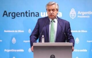 """El Presidente Alberto Fernández anunció el """"aislamiento social preventivo y obligatorio"""" para evitar la propagación del COVID-19"""