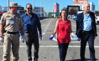 La ministra de Seguridad no descarta instaurar el Estado de sitio