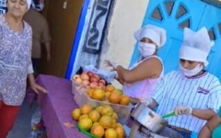Organizaciones sociales trabajan en conjunto para asistir a comedores y familias vulnerables del Distrito