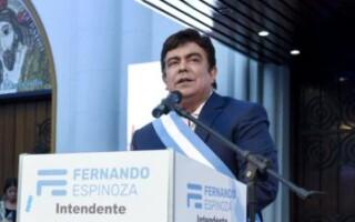 Fernando Espinoza realizará hoy la apertura de sesiones del Concejo Deliberante de La Matanza