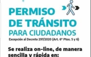 Permiso de Transito para ciudadanos