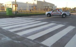 Ya funcionan las mejoras para el ingreso de ambulancias en el Hospital René Favaloro