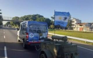 El Centro de Veteranos de Guerra local arribó a Ciudad Celina para asistir a los vecinos necesitados