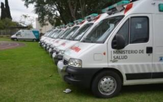 La Provincia recuperó 24 ambulacias abandonadas para enfrentar la pandemia