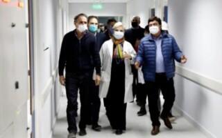 Fernando Espinoza y Gabriel Katopodis supervisaron el final de obra para la apertura del Hospital René Favaloro