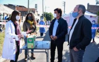 La Matanza continúa y amplía el control con testeos masivos en barrios populares