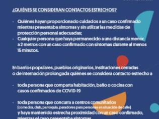 Definición de casos sospechosos de COVID-19