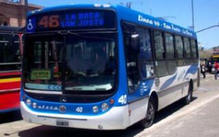 A partir de mañana, los servicios de transporte urbano e interurbano no podrán superar el 60 por ciento de ocupación