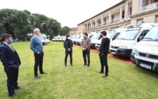 Entregaron dos nuevas ambulancias para el sistema sanitario de La Matanza