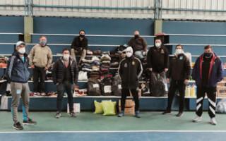 La campaña solidaria de futsal y fútbol playa de AFA llega a La Matanza