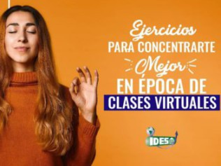Ejercicios para concentrarse mejor en época de clases virtuales