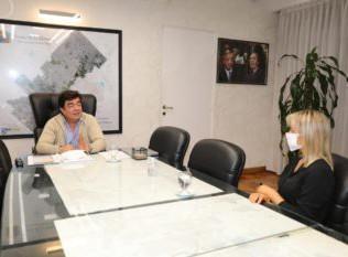 Fernando Espinoza se reunió con Pamela Loisi, de Juntos por el Cambio, para unificar criterios en la lucha contra los efectos de la pandemia