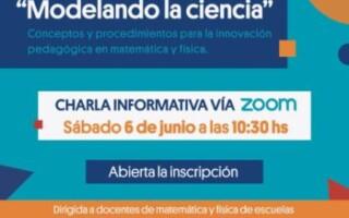 Modelando la Ciencia: una formación para la enseñanza y la innovación pedagógica de la Matemática y la Física en La Matanza junto con la Universidad Tecnológica Nacional