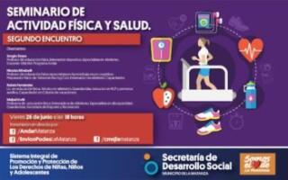 """Encuentro de """"Actividad Física y Salud"""" en La Matanza"""
