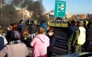 Vecinos de Villa Madero cortaron la Autopista Riccheri pidiendo seguridad