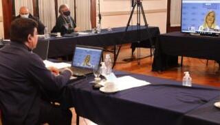Nueva videoconferencia con Verónica Magario y autoridades de Nación y Provincia