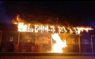 """""""La solidaridad es más grande que la violencia"""", expresaron desde la Corporación Mercado Central luego del ataque"""