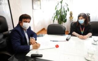 """La Matanza firmó un convenio con la Fundación del Hospital Garrahan """"para seguir cuidando la salud de nuestros niños"""""""