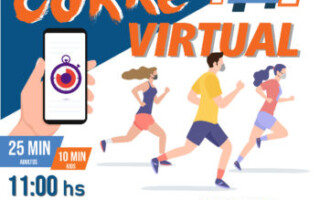 ¡Carrera Virtual #UnidosPodemos!