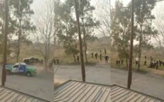 Incidentes en una toma de tierras en González Catán: dos policías heridos y dos detenidos