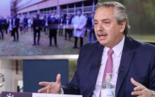 """""""Nos sacamos una mochila muy pesada que alguien cargó sobre los argentinos"""", resaltó Alberto Fernández tras el acuerdo por la deuda"""