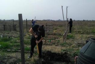 Gregorio de Laferrere: vecinos realizaron una jornada de trabajo en la Reserva Natural