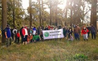 Ciudad Evita: vecinos se movilizaron para pedir por la Ley de Humedales