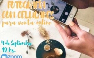 """Instituto IDES te invita a participar del """"Workshop Gratuito: Fotografía con celulares para venta online"""""""