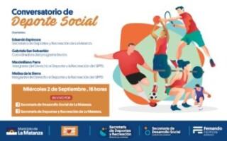 Conversatorio de Deporte Social
