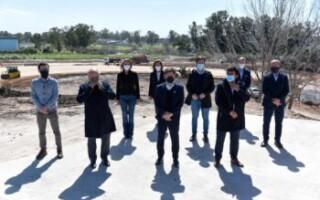 """Fernando Espinoza: """"Esta es la gran autopista para el desarrollo del centro y sur de La Matanza"""""""