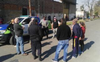 Gregorio de Laferrere: continúa la toma de terrenos de la cooperativa El Palmar
